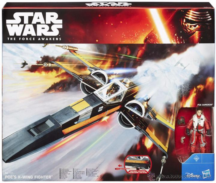 STAR WARS THE FORCE AWAKENS POE DAMERON X-WING FIGHTER (Juguetes - Figuras de Acción - Star Wars)