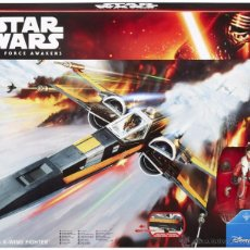 Figuras y Muñecos Star Wars: STAR WARS THE FORCE AWAKENS POE DAMERON X-WING FIGHTER . Lote 53876251