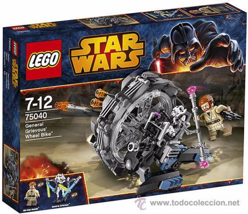 LEGO STAR WARS GENERAL GRIEVOUS WHEEL BIKE (Juguetes - Figuras de Acción - Star Wars)