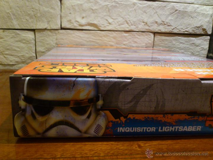 Figuras y Muñecos Star Wars: STAR WARS - SUPER SABLE LASER - REBELS - INQUISIDOR INQUISITOR - 91 CM TOTAL - HASBRO - NUEVO - Foto 20 - 54041894