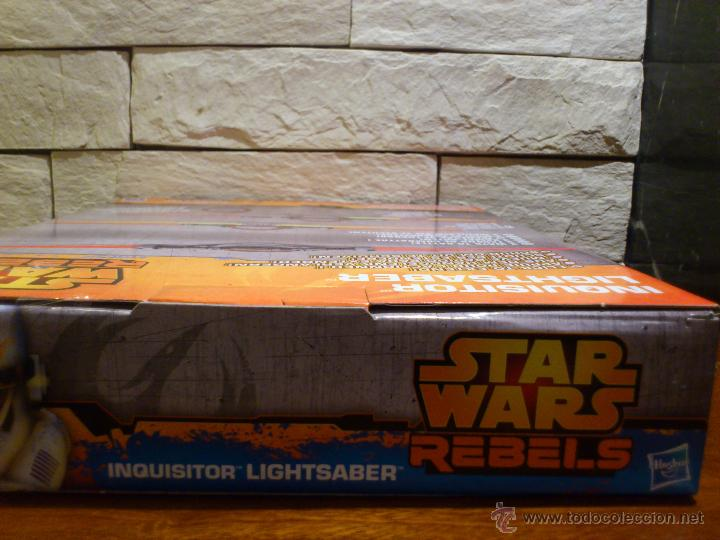 Figuras y Muñecos Star Wars: STAR WARS - SUPER SABLE LASER - REBELS - INQUISIDOR INQUISITOR - 91 CM TOTAL - HASBRO - NUEVO - Foto 21 - 54041894
