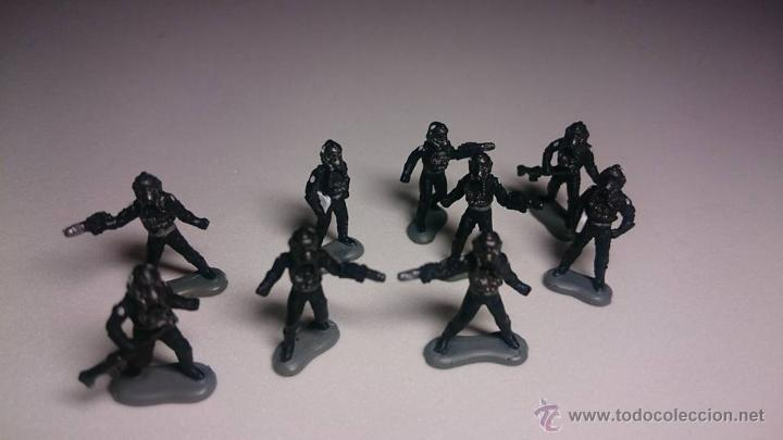 9 SOLDADOS MICRO MACHINES ( MICROMACHINES) STAR WARS ( 1) (Juguetes - Figuras de Acción - Star Wars)