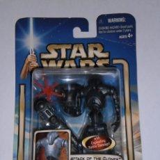 Figuras y Muñecos Star Wars: STAR WARS - SUPER BATTLE DROID,( ATTACK OF THE CLONES. Lote 54562240