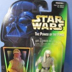 Figuras y Muñecos Star Wars: STAR WARS FIGURA LUKE SKYWALKER KENNER THE POWER OF THE FORCE AÑOS 90 EN BLISTER ORIGINAL. Lote 54862493
