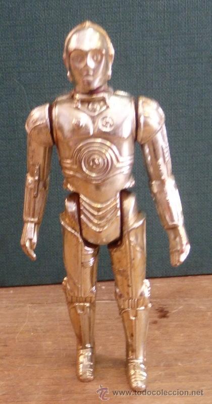 FIGURA VINTAGE STAR WARS C3PO LA GUERRA DE LAS GALAXIAS GMFGI 1977 HONG KONG (Juguetes - Figuras de Acción - Star Wars)