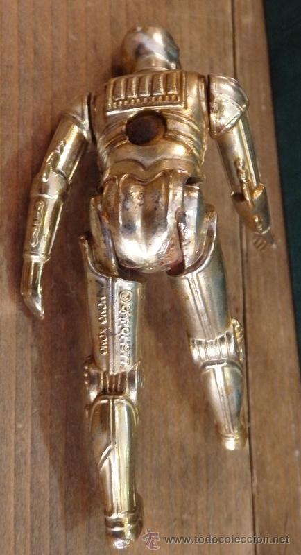 Figuras y Muñecos Star Wars: FIGURA VINTAGE STAR WARS C3PO LA GUERRA DE LAS GALAXIAS GMFGI 1977 HONG KONG - Foto 2 - 54924154