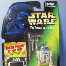Figuras y Muñecos Star Wars: STAR WARS FIGURA R2-D2 EN BLISTER Y CON PROTECTOR DE PVC - THE POWER OF THE FORCE KENNER 1997. Lote 54933925