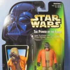 Figuras y Muñecos Star Wars: STAR WARS FIGURA PONDA BABA EN BLISTER Y PROTECTOR PVC - THE POWER OF THE FORCE KENNER 1996. Lote 54938944