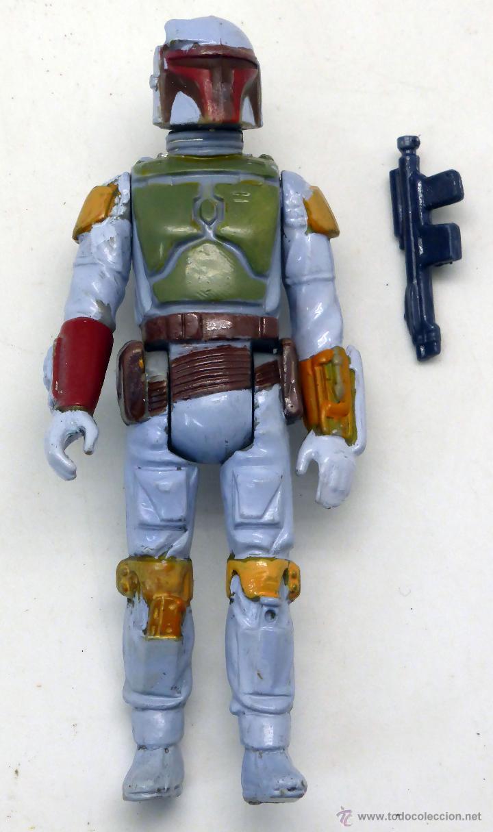 Boba Fett LFL Star Wars Sin Arma Made In Hong Kong 1979