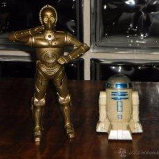 Figuras y Muñecos Star Wars: ROBOTS: C3PO Y R2-D2 - STAR WARS PROPAGANDA DE BURGUER KING DE 2005,. Lote 110710379