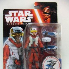 Figuras y Muñecos Star Wars: FIGURA X-WING PILOT ASTY - STAR WARS THE FORCE AWAKENS , EL DESPERTAR DE LA FUERZA - DISNEY HASBRO. Lote 55400509
