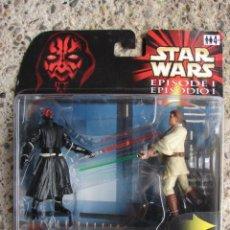 Figuras y Muñecos Star Wars: STAR WARS EPISODE I DUELO FINAL - HASBRO. Lote 55883567