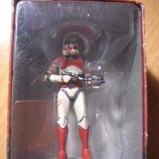 Figuras y Muñecos Star Wars: STAR WARS - RED SHOCK TROOPER - LUSCASFILM LTD&TM 2011. Lote 56467246