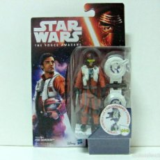 Figuras y Muñecos Star Wars: FIGURA POE DAMERON X WING PILOT STAR WARS THE FORCE AWAKENS EL DESPERTAR DE LA FUERZA DISNEY HASBRO. Lote 56596019