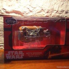 Figuras y Muñecos Star Wars: STAR WARS - SPEEDER - REY - DIE CAST - METAL - ORIGINAL DISNEY - NUEVO - PRECINTADO. Lote 56728135