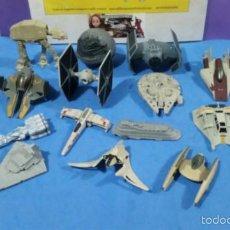 Figuras y Muñecos Star Wars: DIECAST STAR WARS COLECCIÓN DE NAVES . Lote 56728145