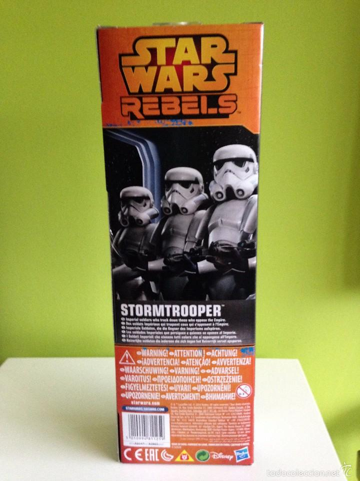 Figuras y Muñecos Star Wars: FIGURA 30 CM. TROPA DE ASALTO CLASICA STAR-WARS EN EMBALAJE ORIGINAL. - Foto 3 - 56799864
