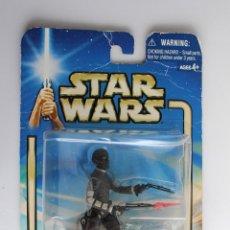 Figuras y Muñecos Star Wars: DJAS PUHR. ALIEN BOUNTY HUNTER. FIGURA STAR WARS IV. HASBRO BLISTER NUEVO. 2002. .. Lote 56855845