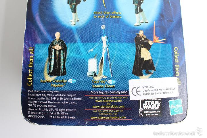 Figuras y Muñecos Star Wars: DJAS PUHR. ALIEN BOUNTY HUNTER. FIGURA STAR WARS IV. HASBRO BLISTER NUEVO. 2002. . - Foto 4 - 56855845