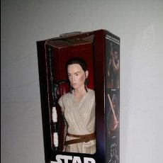 Figuras y Muñecos Star Wars: STAR WARS THE FORCE AWAKENS, REY (JAKKU) DISNEY, HASBRO 30 CMS. 12''.. Lote 57025929