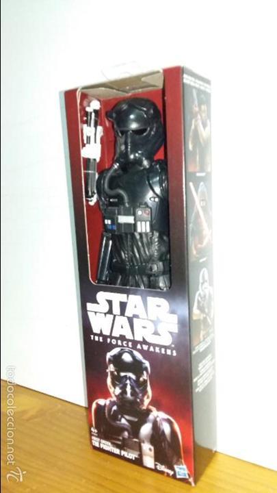 STAR WARS THE FORCE AWAKENS, FIRST ORDER TIE FIGHTER PILOT DISNEY, HASBRO 30 CMS. 12' (Juguetes - Figuras de Acción - Star Wars)
