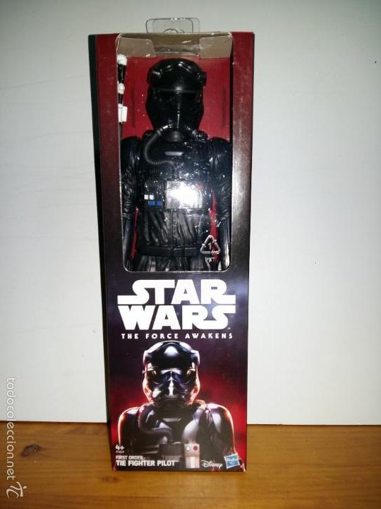 Figuras y Muñecos Star Wars: STAR WARS THE FORCE AWAKENS, FIRST ORDER TIE FIGHTER PILOT DISNEY, HASBRO 30 cms. 12 - Foto 2 - 57025981