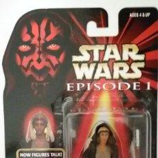 Figuras y Muñecos Star Wars: STAR WARS # ADI GALLIA # EPISODIO 1 - COMMTECH CHIP. NUEVO EN SU BLISTER ORIGINAL - DE HASBRO.. Lote 57264876