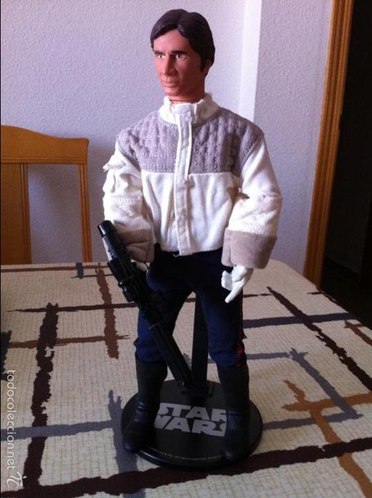 Figuras y Muñecos Star Wars: STAR WARS. Han Solo en Hoth. De Hasbro. Escala 1/6. Perfecta para customizar. - Foto 2 - 57265205