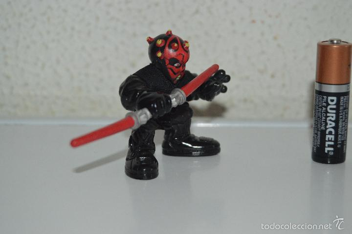 Figuras y Muñecos Star Wars: muñeco figura star wars darth maul 2001 - Foto 4 - 57303601