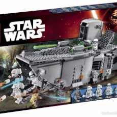 Figure e Bambolotti Star Wars: STAR WARS FIRST ORDER TRANSPORTER LEGO 75103. Lote 57572618