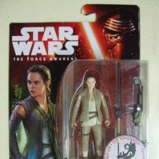 Figuras y Muñecos Star Wars: FIGURA REY RESISTANCE OUTFIT - STAR WARS THE FORCE AWAKENS , EL DESPERTAR DE LA FUERZA DISNEY HASBRO. Lote 112991767