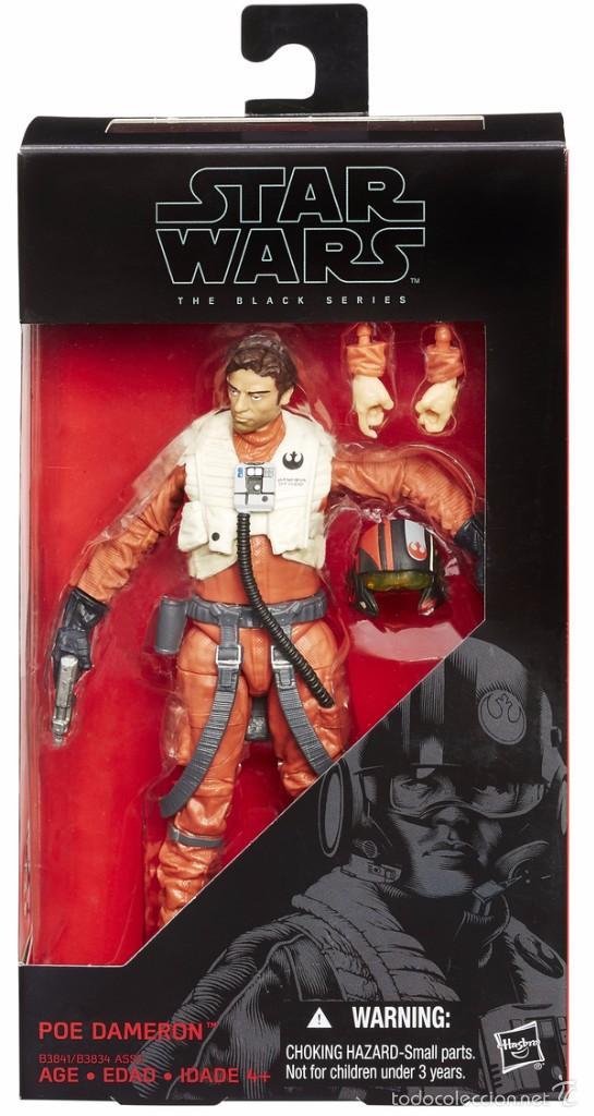STAR WARS THE BLACK SERIES - POE DAMERON - B3841 - HASBRO (Juguetes - Figuras de Acción - Star Wars)