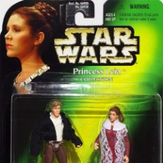 Figuras y Muñecos Star Wars: STAR WARS - PRINCESS LEIA AND HAN SOLO - KENNER. Lote 57789915
