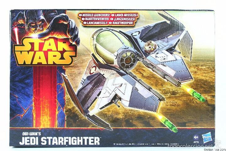 STAR WARS - OBI-WAN´S JEDI STARFIGHTER - HASBRO (Juguetes - Figuras de Acción - Star Wars)