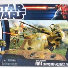 Figuras y Muñecos Star Wars: STAR WARS - TRADE FEDERATION AAT (ARMORED ASSAULT TANK) - HASBRO. Lote 57868440