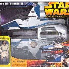 Figuras y Muñecos Star Wars: STAR WARS REVENGE OF THE SITH - OBI-WAN´S JEDI STARFIGHTER - HASBRO. Lote 142761865