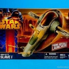 Figuras y Muñecos Star Wars: STAR WARS - BOBA FETT´S SLAVE I - HASBRO. Lote 57868852