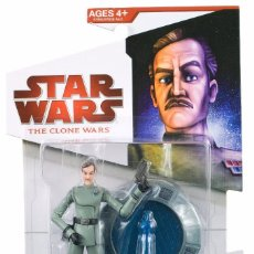 Figuras y Muñecos Star Wars: STAR WARS THE CLONE WARS - ADMIRAL YULAREN - HASBRO. Lote 58129566