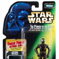Figuras y Muñecos Star Wars: STAR WARS THE POWER OF THE FORCE - DEATH STAR DROID - HASBRO. Lote 58145822