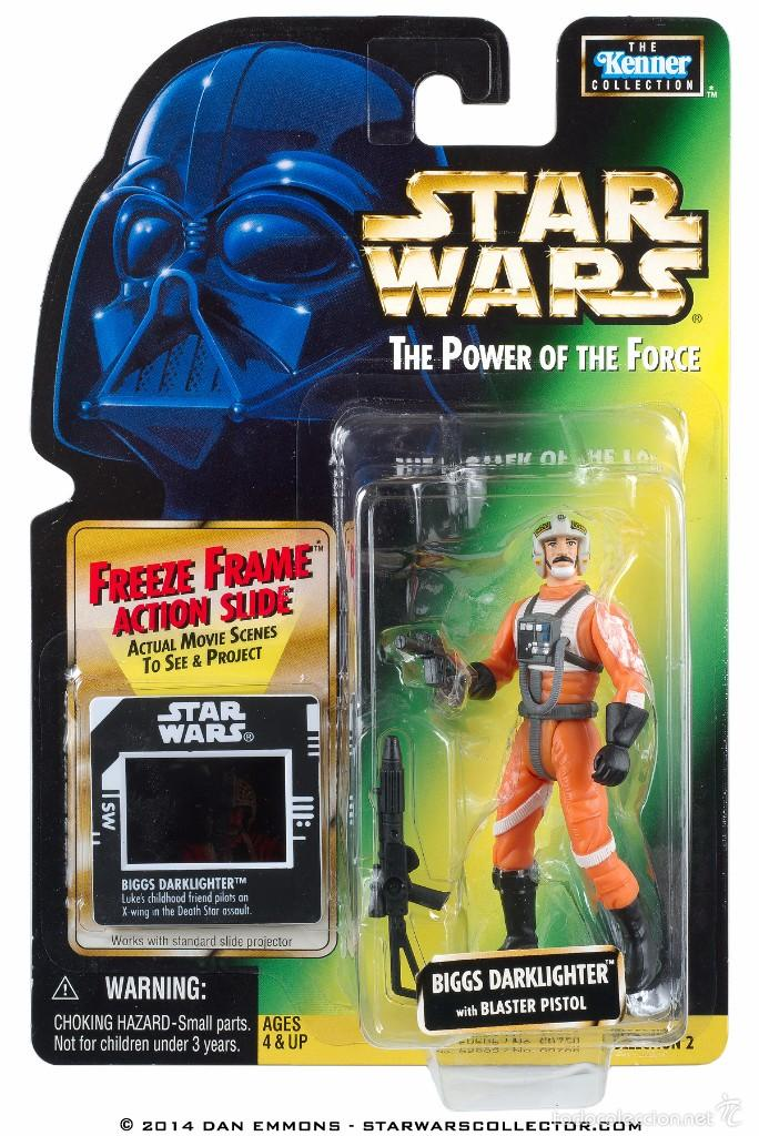 STAR WARS THE POWER OF THE FORCE - BIGGS DARKLIGHTER - HASBRO (Juguetes - Figuras de Acción - Star Wars)