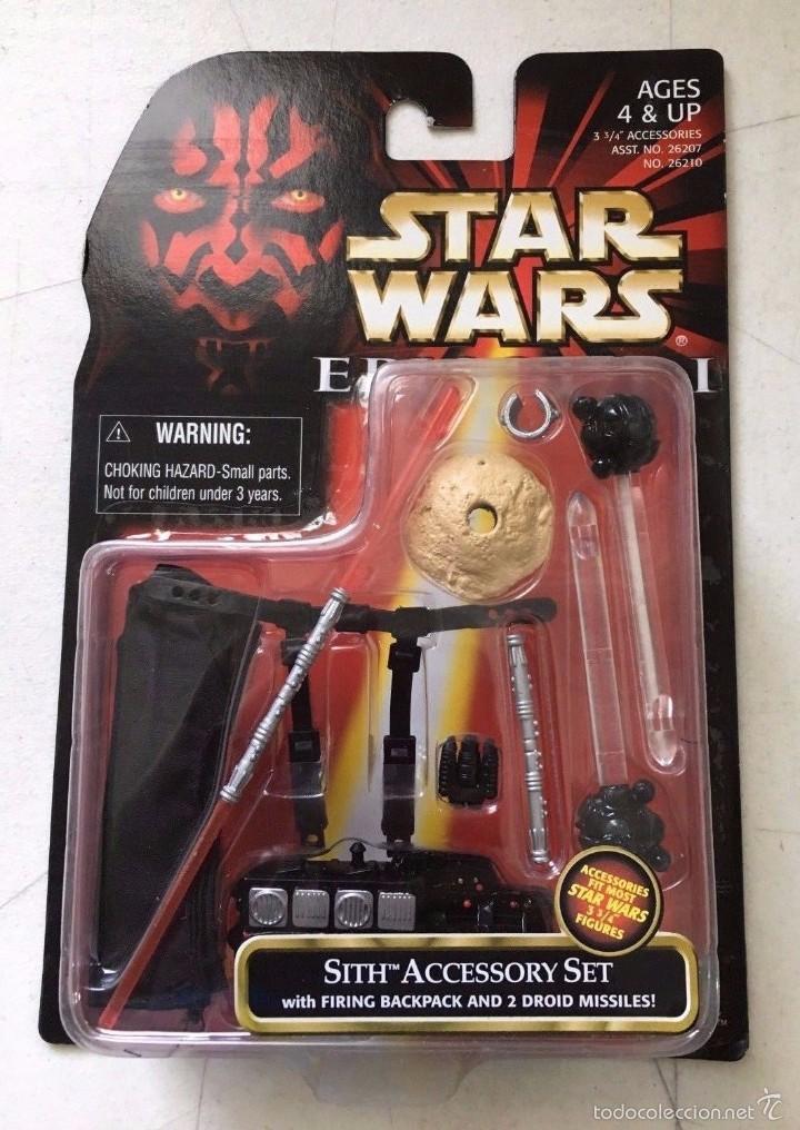 STAR WARS EPISODE I - SITH ACCESSORY SET - HASBRO (Juguetes - Figuras de Acción - Star Wars)