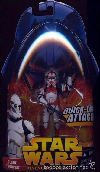 Star Wars Revenge Of The Sith Clone Trooper Buy Figures And Dolls Star Wars At Todocoleccion 58146504