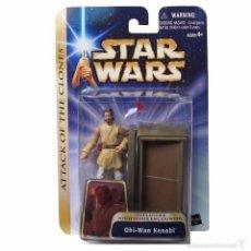 Figuras y Muñecos Star Wars: STAR WARS ATTACK OF THE CLONES - OBI-WAN KENOBI - HASBRO. Lote 58146591