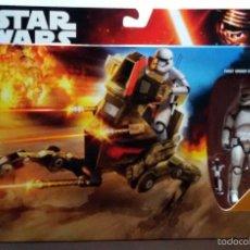 Figuras y Muñecos Star Wars: STAR WARS # ASSAULT WALKER & STORMTROOPER OFFICER # NUEVO EN SU CAJA ORIGINAL DE HASBRO. Lote 142794229
