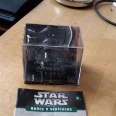 Figuras y Muñecos Star Wars: FASCICULO Nº8 STAR WARS NAVES Y VEHÍCULOS | PLANETA DE AGOSTINI | WHEEL BIKE DE GRIEVOUS. Lote 58481471