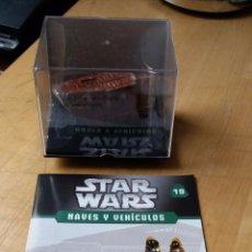 Figuras y Muñecos Star Wars: FASCICULO Nº19 STAR WARS NAVES Y VEHÍCULOS | PLANETA DE AGOSTINI | REPTADOR DE LAS ARENAS. Lote 58483063