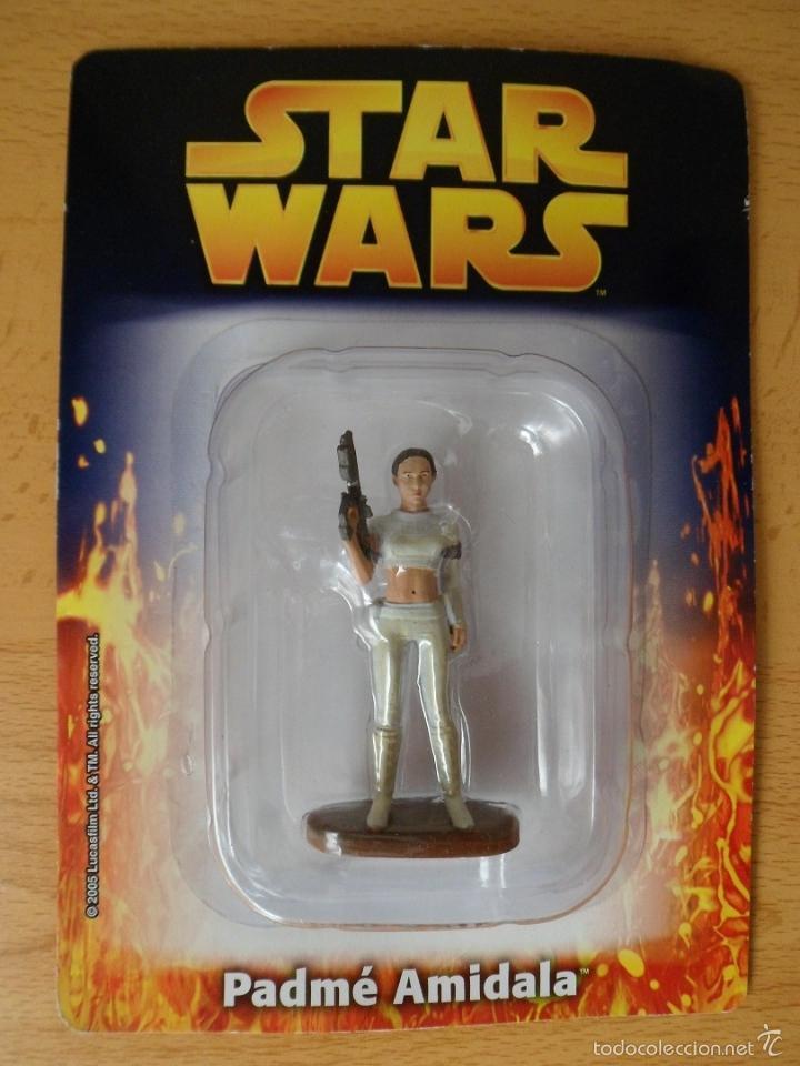 STAR WARS. FIGURA DE METAL PADMÉ AMIDALA. SAGA, LA GUERRA DE LAS GALAXIAS. . (Juguetes - Figuras de Acción - Star Wars)