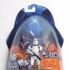Figuras y Muñecos Star Wars: STAR WARS REVENGE OF THE SITH - CLONE TROOPER - HASBRO. Lote 61534136