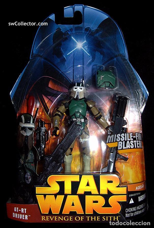 STAR WARS REVENGE OF THE SITH - AT-RT DRIVER - HASBRO (Juguetes - Figuras de Acción - Star Wars)