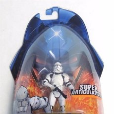 Figuras y Muñecos Star Wars: STAR WARS REVENGE OF THE SITH - CLONE TROOPER - HASBRO. Lote 61536148